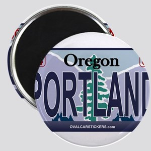 Oregon Plate - PORTLAND Magnets