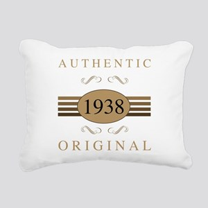 1938 Authentic Original Rectangular Canvas Pillow
