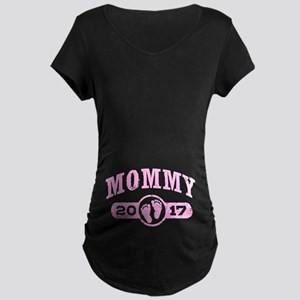 Mommy 2017 Maternity Dark T-Shirt