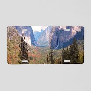 Nature Waterfall Aluminum License Plate