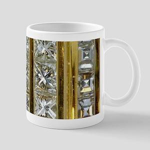 Yellow Gold and Diamond Bling Mugs