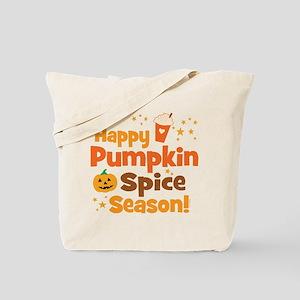 Happy Pumpkin Spice Season Tote Bag