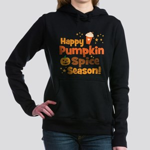 Happy Pumpkin Spice Seas Women's Hooded Sweatshirt