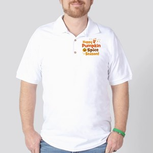 Happy Pumpkin Spice Season Golf Shirt