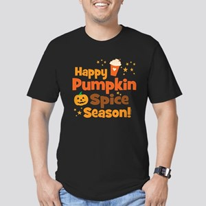 Happy Pumpkin Spice Se Men's Fitted T-Shirt (dark)
