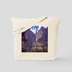 High Mountain Waterfall Tote Bag
