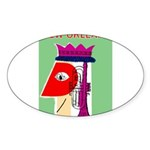 Sticker (Oval 50 pk)