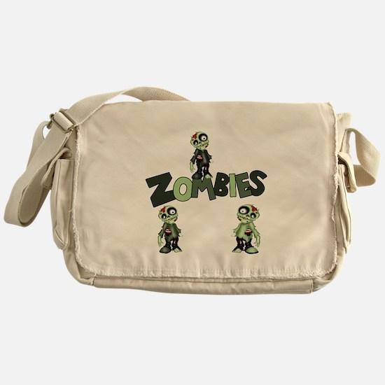 Zombies Messenger Bag