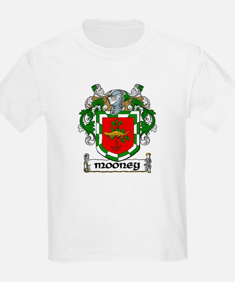 Mooney Coat of Arms Kids T-Shirt