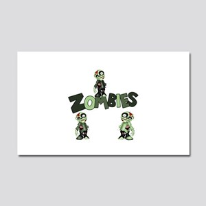 Zombies Car Magnet 20 x 12