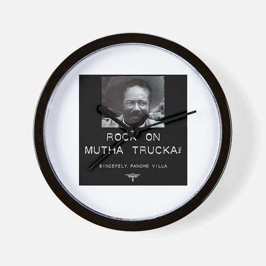 Rock On Mutha Trucka, Sincere Wall Clock