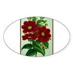 Vintage Flower Print Sticker