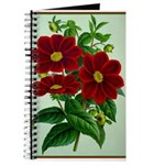 Vintage Flower Print Journal