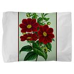 Vintage Flower Print Pillow Sham