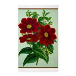Vintage Flower Print Area Rug