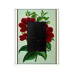 Vintage Flower Print Picture Frame