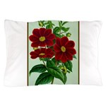 Vintage Flower Print Pillow Case