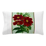 Vintage Flower Print Pillow Case