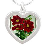 Vintage Flower Print Necklaces