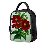 Vintage Flower Print Neoprene Lunch Bag