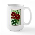 Vintage Flower Print Mugs