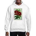 Vintage Flower Print Hoodie Sweatshirt