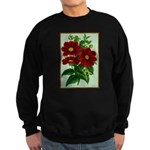 Vintage Flower Print Sweatshirt
