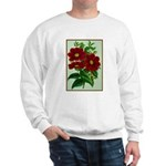 Vintage Flower Print Sweater