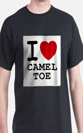 I heart camel toe T-Shirt