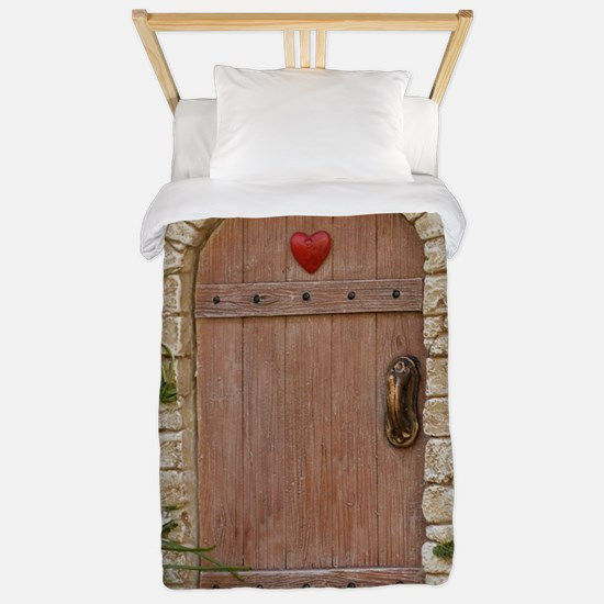 FAIRY DOOR Twin Duvet Cover