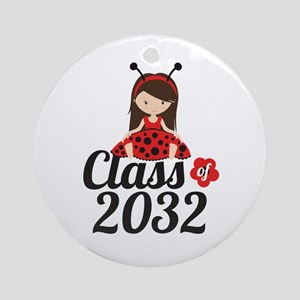 Class of 2032 Round Ornament