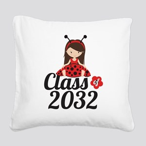 Class of 2032 Square Canvas Pillow