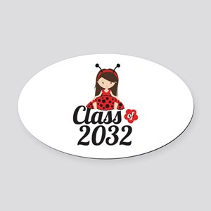 Class of 2032 Oval Car Magnet