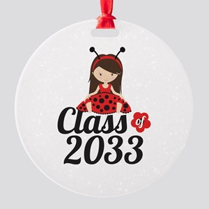 Class of 2033 Round Ornament