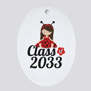 Class of 2033 Oval Ornament