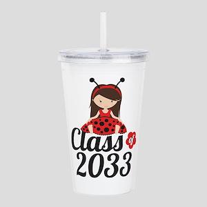 Class of 2033 Acrylic Double-wall Tumbler