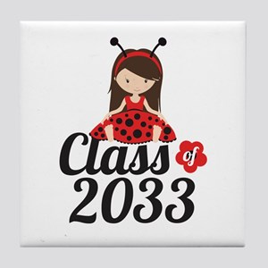 Class of 2033 Tile Coaster
