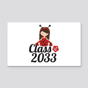 Class of 2033 Rectangle Car Magnet