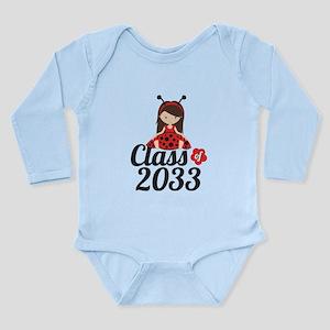 Class of 2033 Long Sleeve Infant Bodysuit