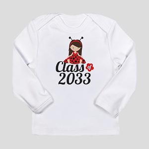 Class of 2033 Long Sleeve Infant T-Shirt