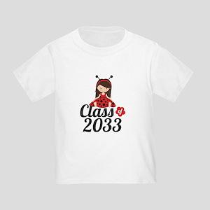 Class of 2033 Toddler T-Shirt