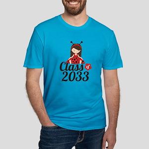 Class of 2033 Men's Fitted T-Shirt (dark)