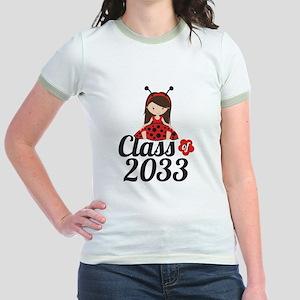 Class of 2033 Jr. Ringer T-Shirt