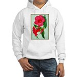 Red Morning Glorys Hoodie Sweatshirt