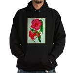 Red Morning Glorys Hoodie