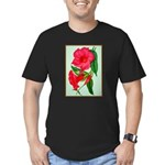 Red Morning Glorys T-Shirt