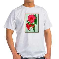Red Morning Glorys T-Shirt