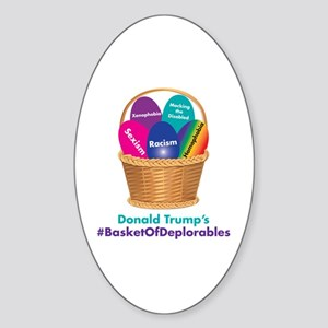 Trump's Basket of Deplorables Sticker