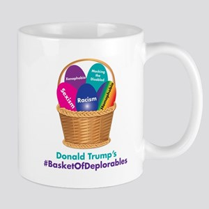 Trump's Basket Of Deplorables Mugs
