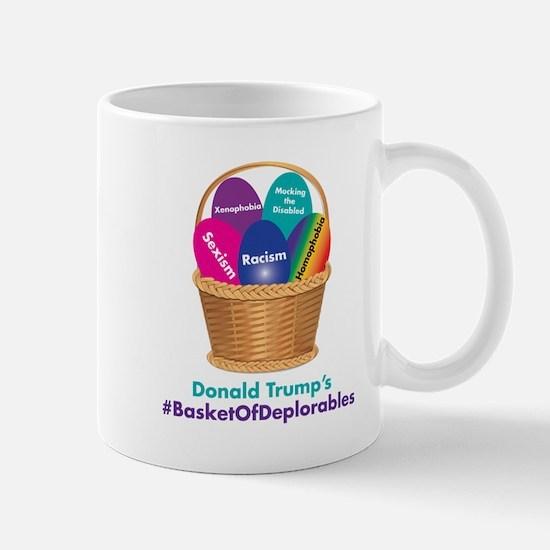 Trump's Basket Of Deplorables Mugs